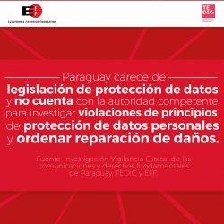 Paraguay debe elevar estándares de protección de las comunicaciones