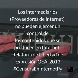 ISP contenidos nocivos