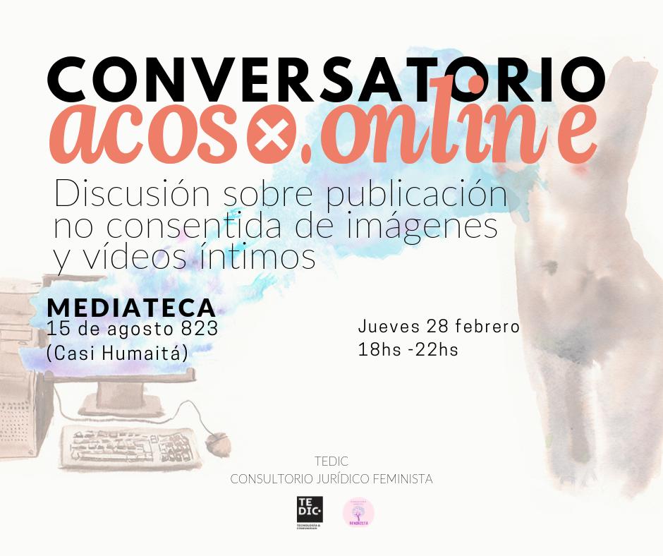 Coloquio Acoso.Online