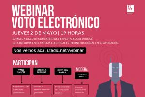 webinar voto electronico