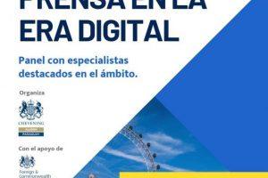 flyer libertad de expresión en el ámbito digital