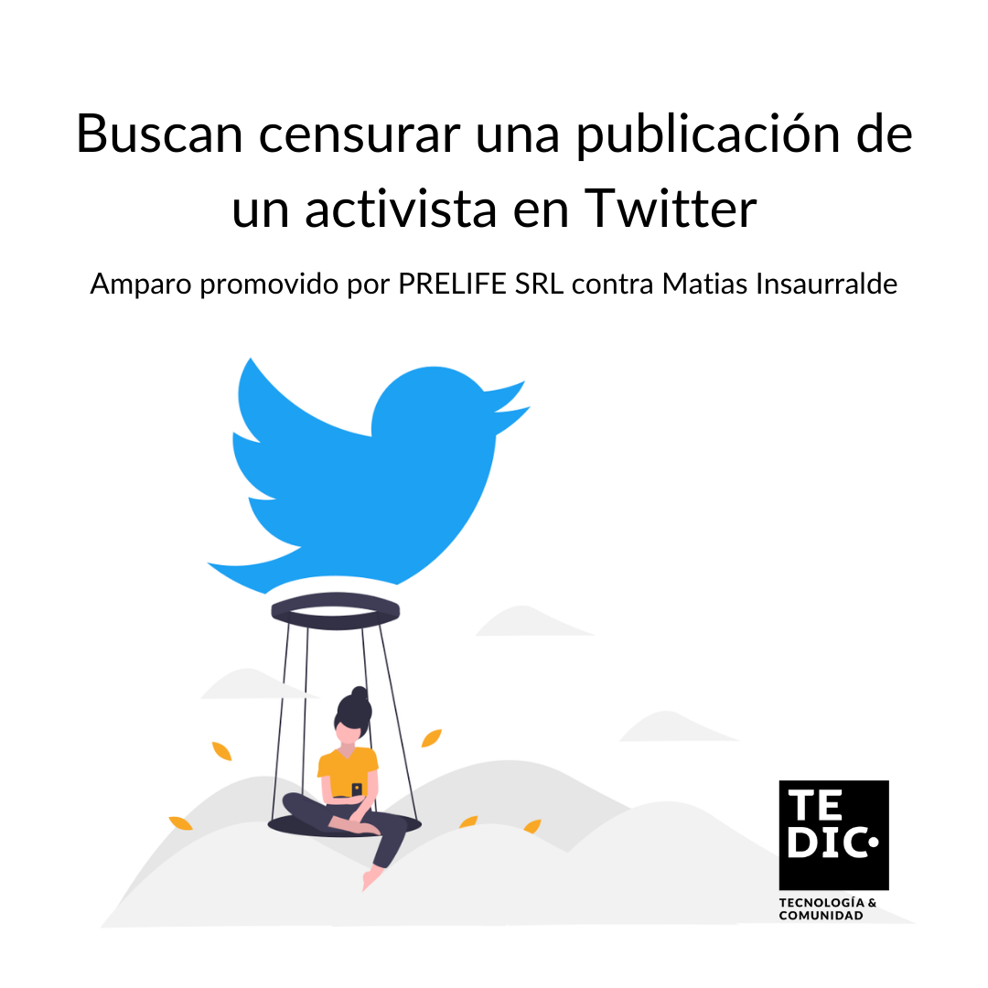 Buscan censurar una publicación de un activista sobre una empresa de inversión en Paraguay