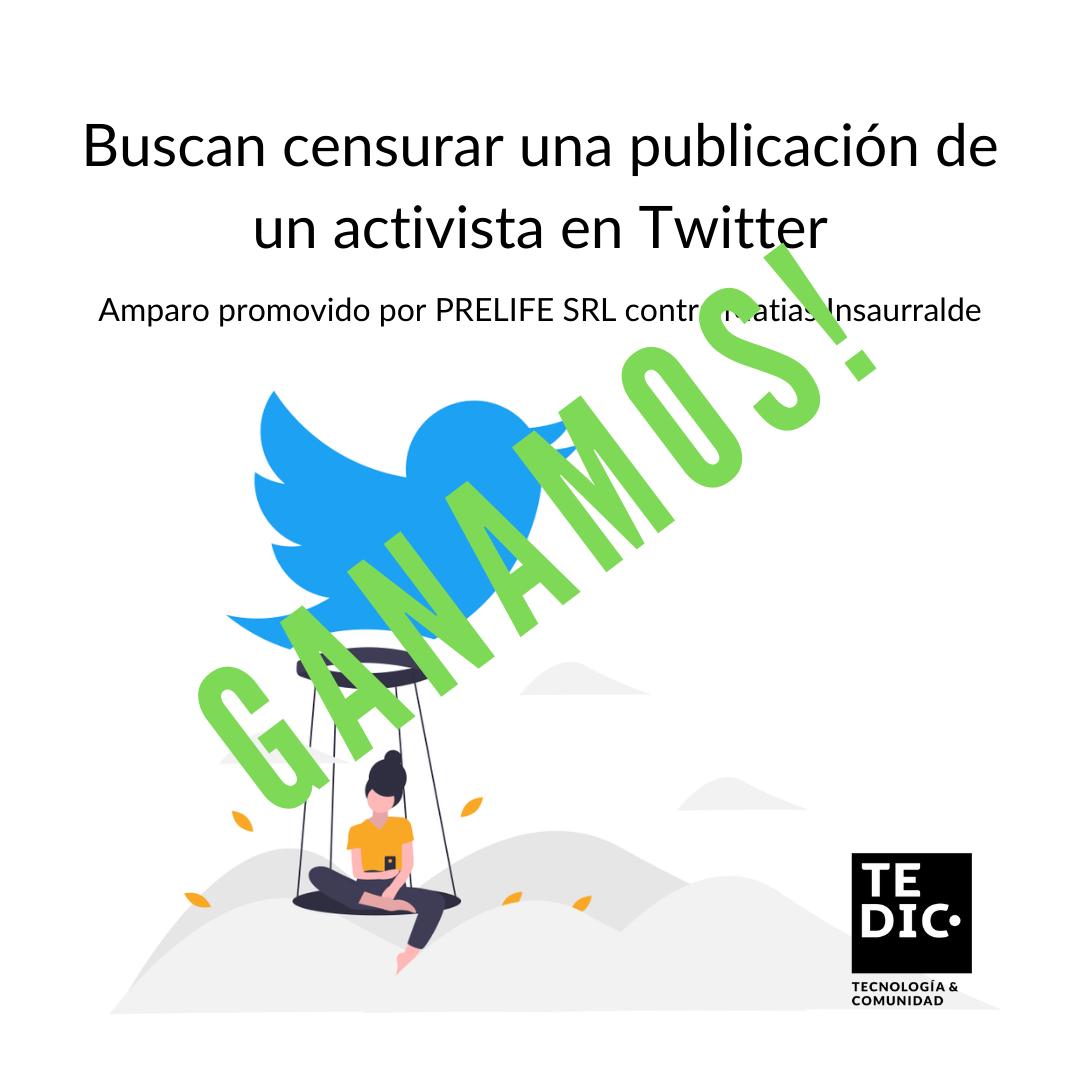 Buscan censurar una publicación de un activista sobre una empresa de inversión en Paraguay(1)