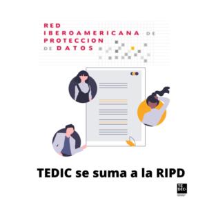 TEDIC se suma a la RIPD