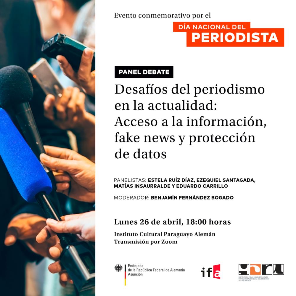 Flyer dia internacional del periodista