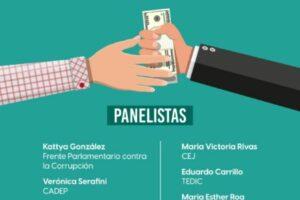 Flyer evento Corrupción Ningo Ñandejuka