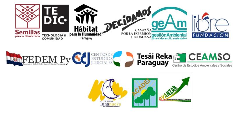 Logo organizaciones de la sociedad civil