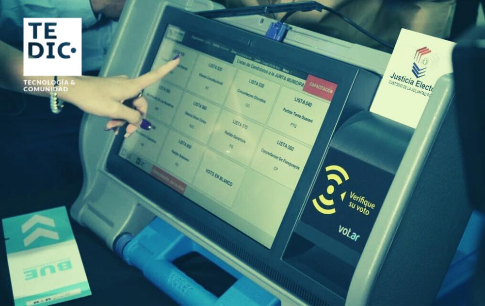 votacion electronica